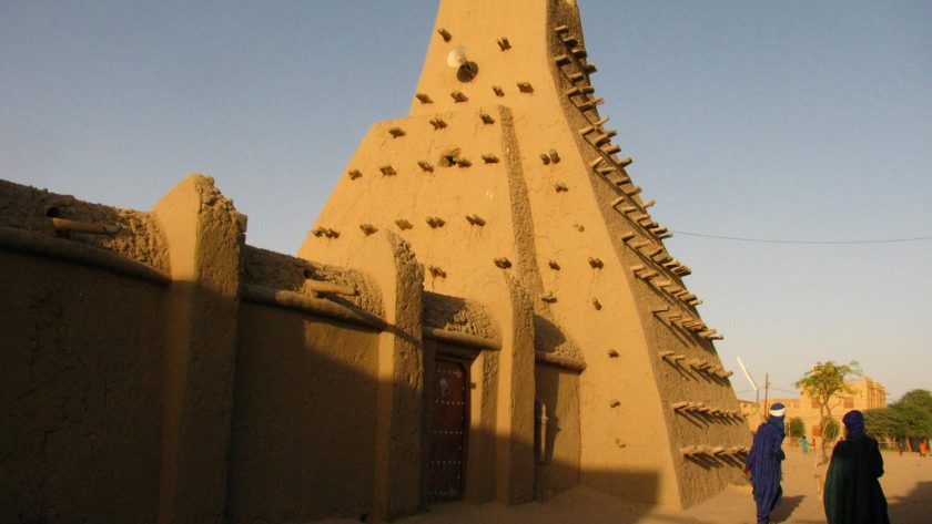Timbuktu mosque